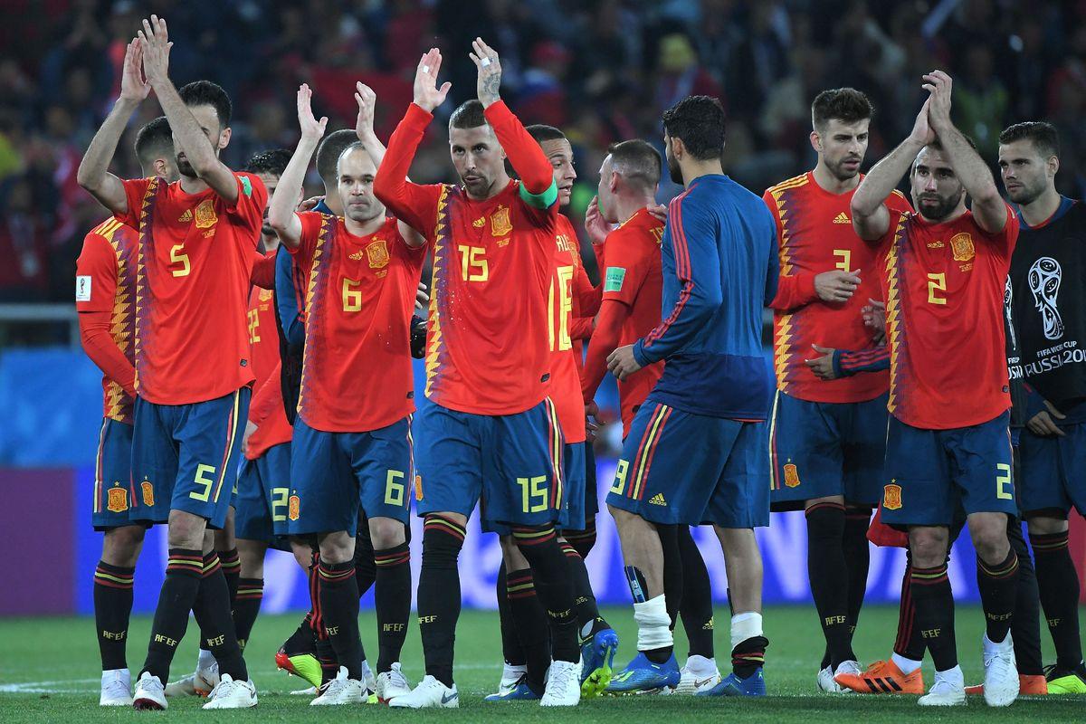Сборная Испании на Чемпионате Мира 2018