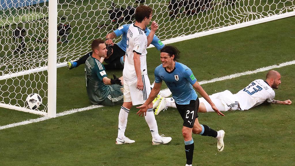 Прогноз и ставки на матч плей-офф ЧМ-2018 Уругвай - Португалия. 30.06.2018
