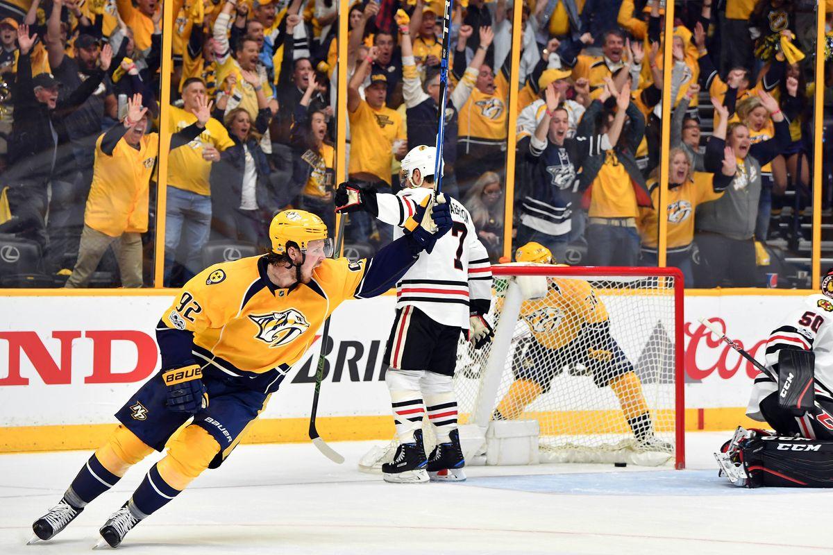 Калгари — Нэшвилл. Прогноз на 9 декабря 2018. НХЛ