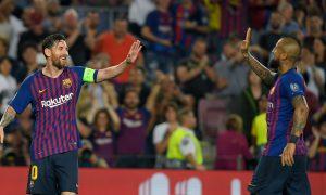 Лион — Барселона. Прогноз на матч 19 февраля 2019. Лига Чемпионов