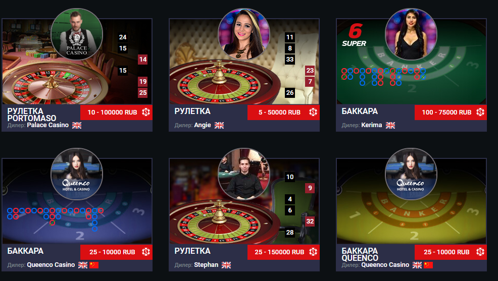 Варианты онлайн казино