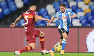 Рома — Наполи. Прогноз на матч 21 марта 2021. Чемпионат Италии