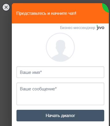 Онлайн-чат технической поддержки